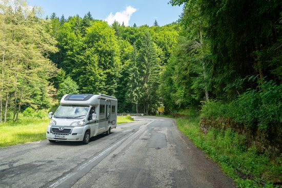 Europe by campervan - Romania